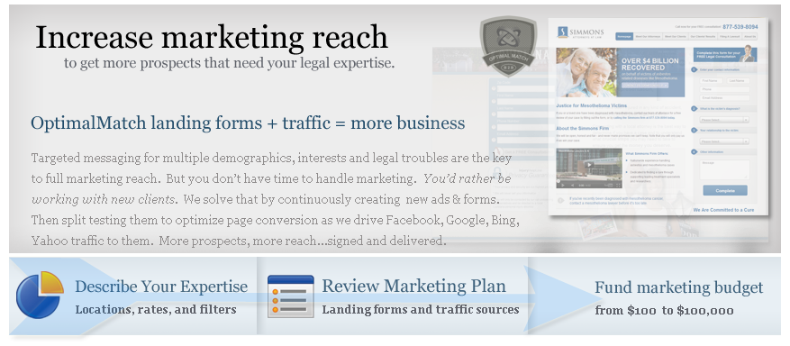 More legal marketing reach